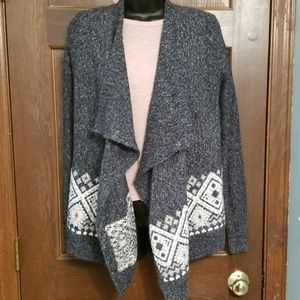 NWOT Hollister drape front cardigan